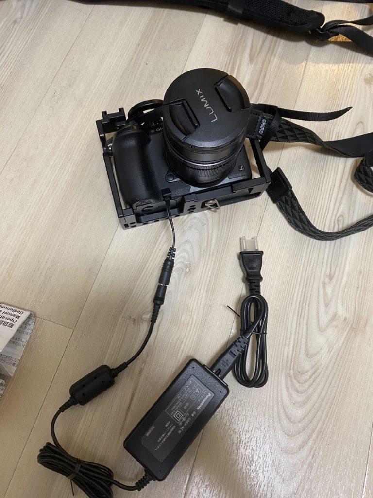 パナソニック ACアダプター ルミックス DMW-AC10 と カプラー